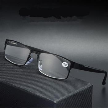 Myopia Glasses Men Business Reading Glasses Women Titanium alloy Eyegrasses Male Hyperopia Presbyopia Prescription Glasses Frame