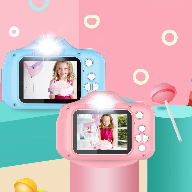 Children's Camera Baby Convenient Mini Educational Toys Small SLR Digital HD Can Take Pictures Exclusive Children's Camera Gift