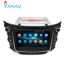 Car radio dvd player 2 Din stereo receiver Car GPS navigation FOR HYUNDAI I30 2011-2014 head unit multimedia audio video player(China)
