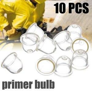 10PCS 19/22mm Transparent Fuel Bubble Pump Carburetor Oil Bubble Primer Bulb Chainsaws Trimmer Brush Cutter Clear Tool(China)