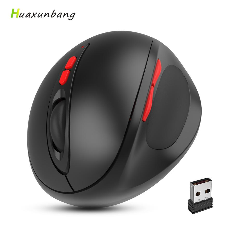 2.4G Wireless Mouse vertical Ergonomic Mouse 7 Key Gaming Mause Gamer Rechargeable Mouse AAA Version Mice For PC macbook Laptop|Mice| |  - title=