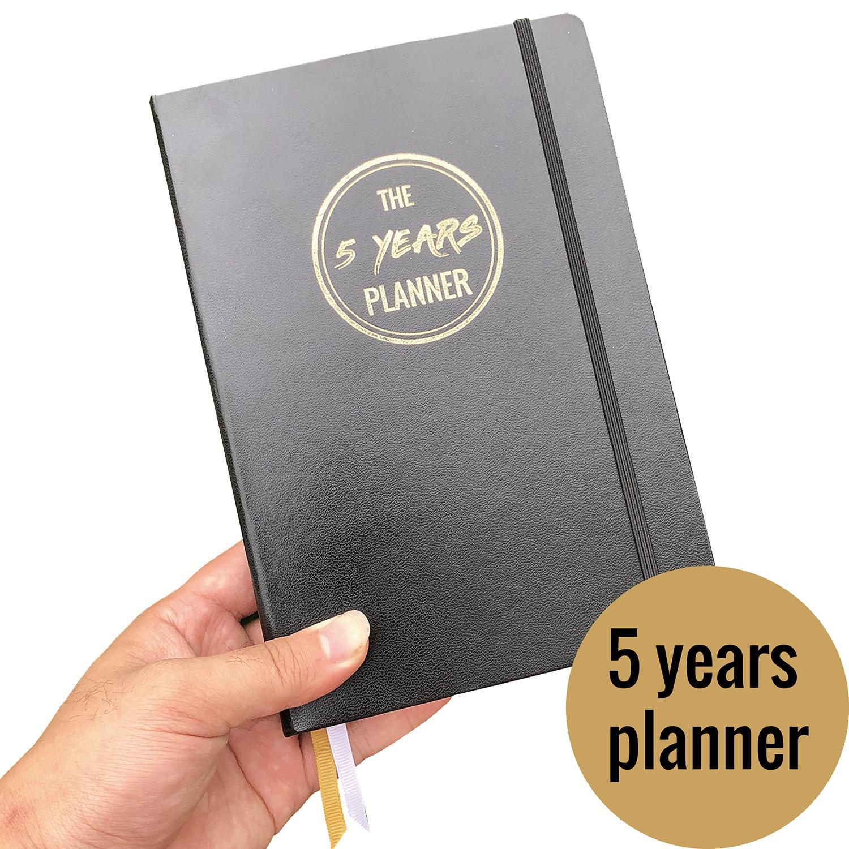 2020 Agenda Planner 5 Years Memory PERSONALDIARY 365 Days Notebooks