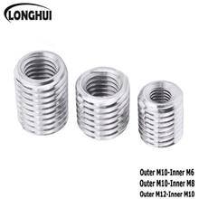 Hollow-Pipe Screw Coupler Outside-Thread To M6 M6-M8 5PCS 10PCS Conveyor-Splitter-Adapter