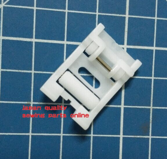 SEWING MACHINE TEFLON ROLLER FOOT SNAP ON FOR  BROTHER SINGER 7314PW plastic