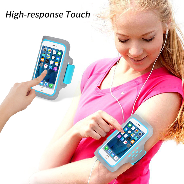 Running Bags Sport Armbands For iPhone SE 2020 XS X 8 7 6 6S Huawei P8 Lite Samsung S8 S7 S6 Phone Case on Hand Arm Band Holder 3