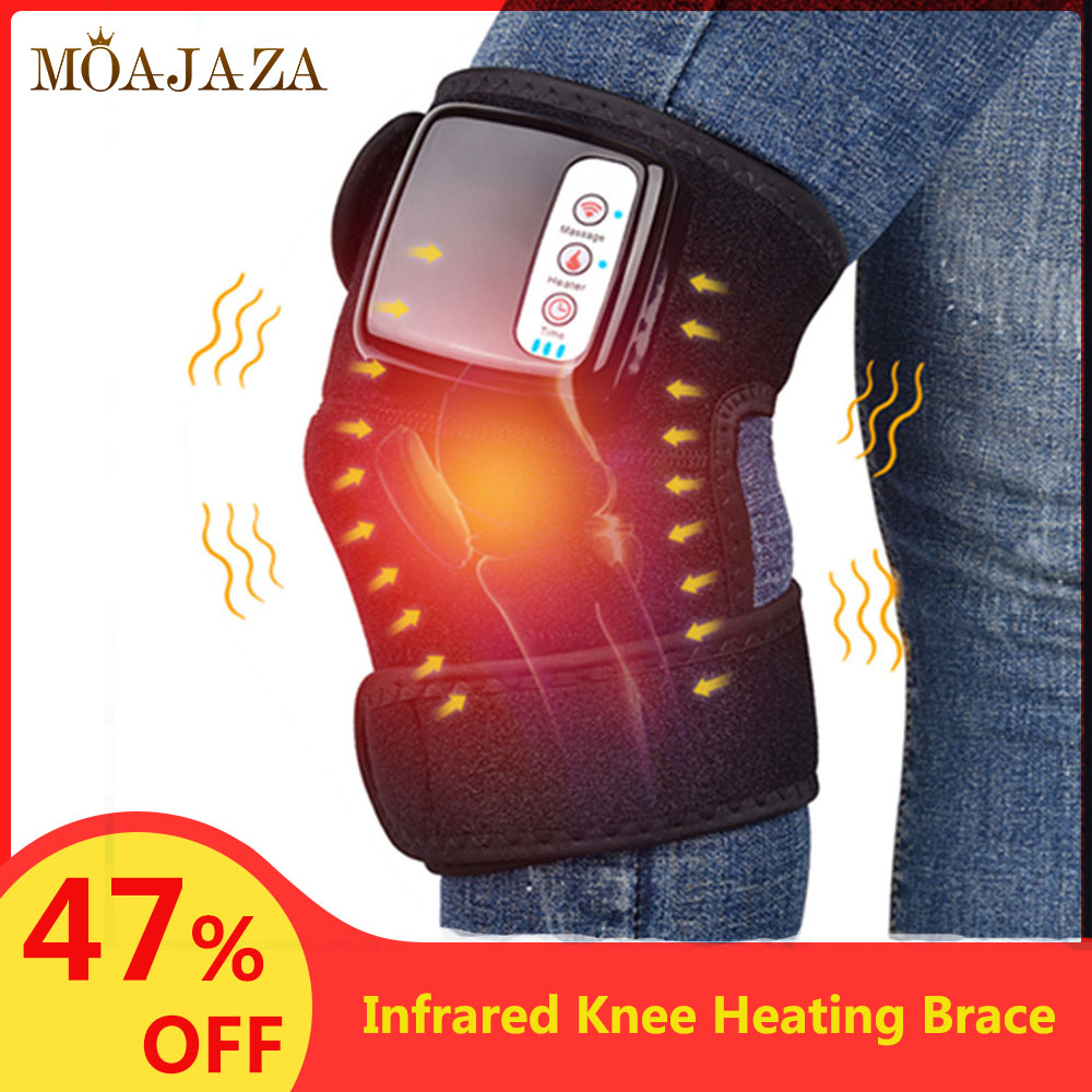1Pcs Infrared Heating Knee Brace Support Foot Massager Arthritis Joint Apparatus Pain Reliever Tourmaline Self Heating Knee Pad