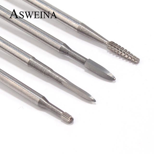 1pc Tungsten Carbide Nail Drill Bit Cutter For Manicure Machine Carbide Electric Nail Drill Milling Cutter For Nail Accessories