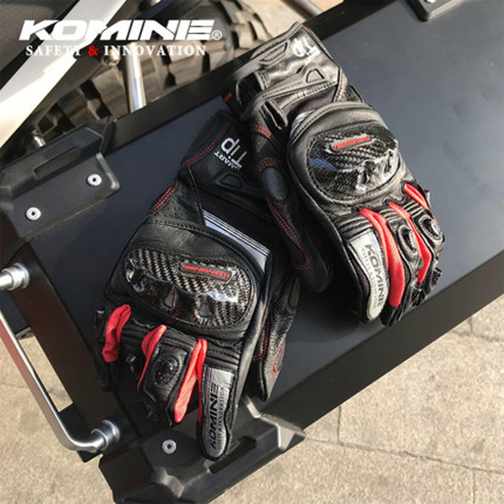 GK193 New Style Locomotive Gloves Motorcycle Race Car Drop-resistant Touch Gloves Knight Riding Car Protective Gloves