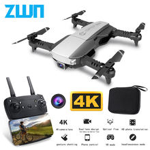 Z1 Wifi FPV Mini Drone with 1080P 4K HD Camera Optical Flow Positioning Gesture Control Rc Quadcopter Vs sg106 Visuo xs816 Dron(China)