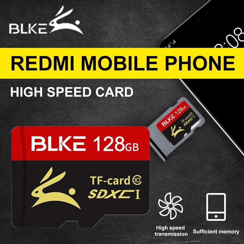 Blke micro cartão sd redmi cartão de memória para redmi 8 8a 7 nota 8 pro k30 nota 7 pro 6 pro 7a 6a s2 nota 7 s nota 8 5 4x 5a cartão tf