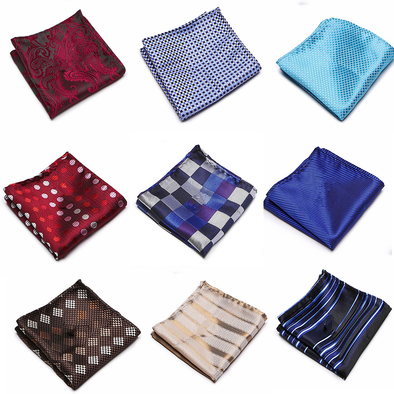 22x22cm Men/'s Accesory Handkerchiefs 100/% Satin Pocket Square Hanky Handkerchief