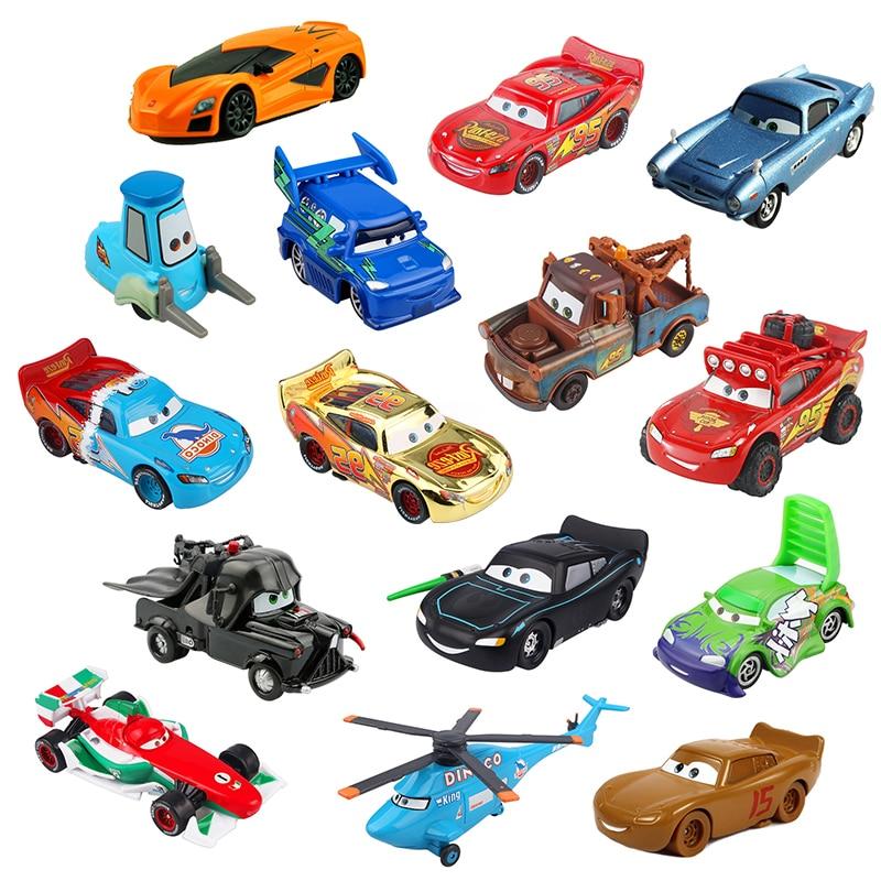Disney Pixar araba 3 aydınlatma Mcqueen malzeme 1:55 Diecasts ve oyuncak araçlar oyuncak arabalar çocuklar için