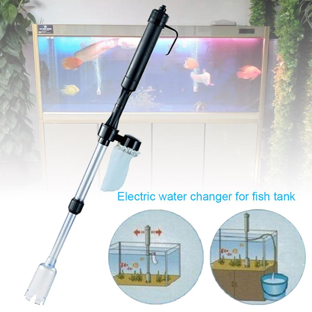 Automatic Water Changer For Fish Tank Electric Water Changer Electric Sand Washing Maker Fish Tank Water Absorbing Machine