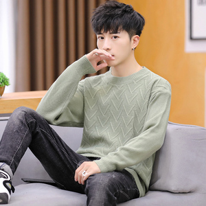 2020 Turtleneck men sweater loose long sleeve men's autumn outfit in the fall and winter(China)