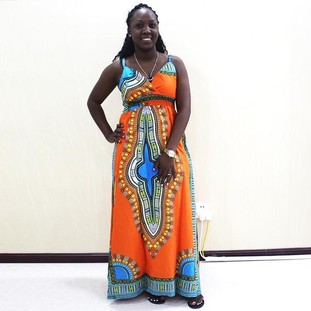 Dashikiage talia przód z rozporkiem sukienka na cienkich ramiączkach elegancka dopasowana, w kwiaty drukuj bez rękawów sukienka jesień nowoczesne Lady kobiety sukienek