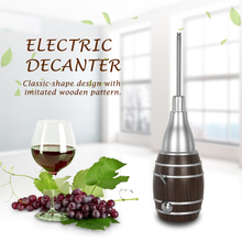 Hot Sale 6 Seconds Wine Decanter Plastic Kitchen Use Electric Decanter Telescopic Outlet Rod itop handmade household red wine decanter wood decanter 6 seconds wine processors with battery