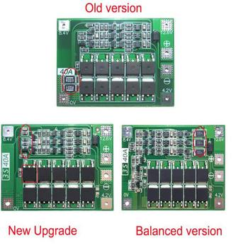 BMS Board Standard Balance 2S 20A/3 S 20A/3 S 40A/4 S 40A 7,4 v-16,8 V 18650 Lithium-Batterie Schutz Bord