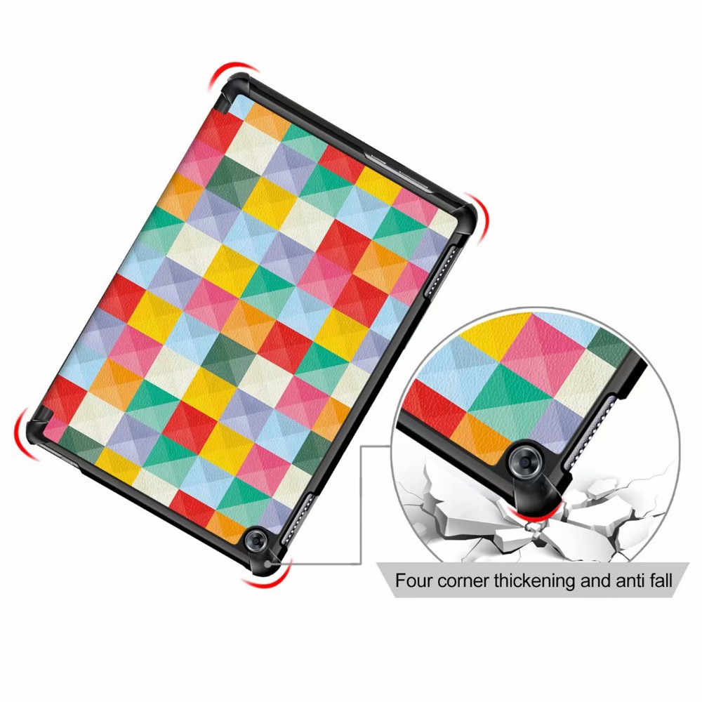المغناطيس حافظة لهاتف huawei MediaPad M5 لايت 10 BAH2-W19/L09/W09 10.1 'فليب حامل فوندا غطاء ل huawei m5 لايت 10 حالة + هدية