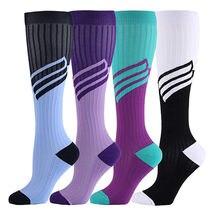 Для мужчин женщин длинная трубка Компрессионные носки профессии