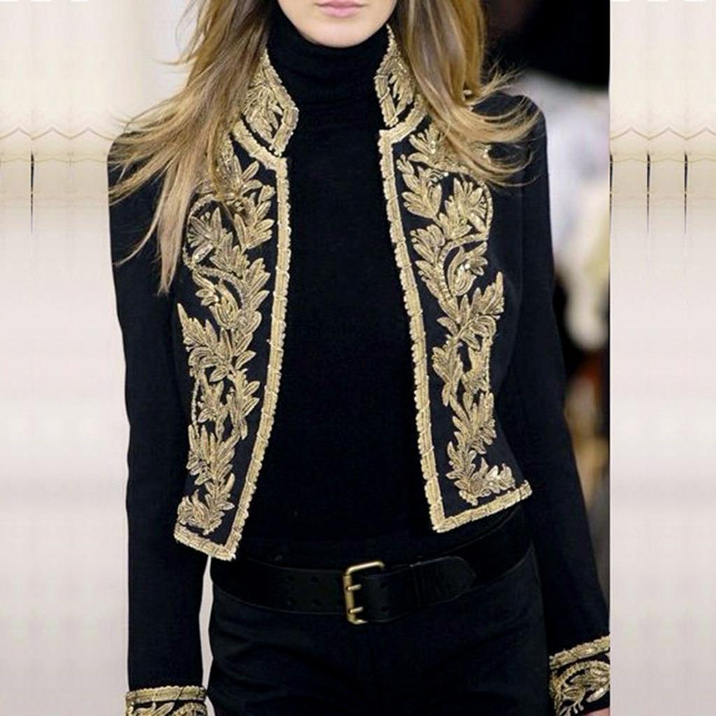 Women Long Sleeve Open Front Short Cardigan Suit Jacket Work Office Top Blazer Feminino Autumn Winter Suit Blazer Women C30915