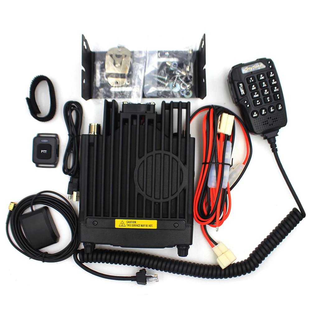 Anytone AT-D578UVIIIPRO DMR and Analog Radio Station 50W VHF UHF GPS APRS Bluetooth Walkie Talkie DMR Car Radio Communicator 6