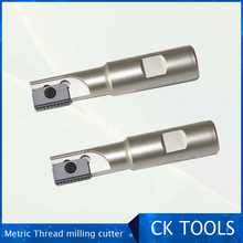 Internal thread milling rod internal cold metric cutter m12 combing single blade indexable SR