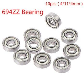 10pc 693ZZ 605RS 605ZZ 698ZZ 624ZZ 694ZZ 695ZZ 696ZZ Miniature Ball Bearings Small Double Shielded - 694ZZ