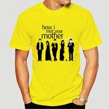 Como eu conheci sua mãe camiseta himym maglietta ted marshall robin barney casual orgulho t camisa masculina unissex tshirt 2744x