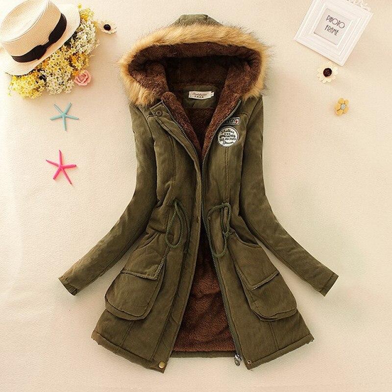 2019 Basic Winter Coat Women Oversize Warm Hooded Jacket Coat Harakuju Winter Thick Women Female Outwear Jackets Coats BJT142