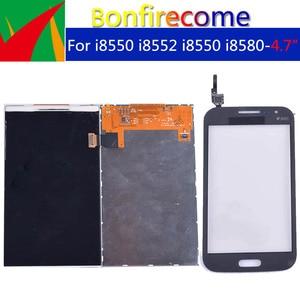 Image 2 - Qualità originale Per Samsung Galaxy Win i8550 i8552 GT i8550 i8580 LCD Display Con Touch Screen Digitizer Pannello Del Sensore