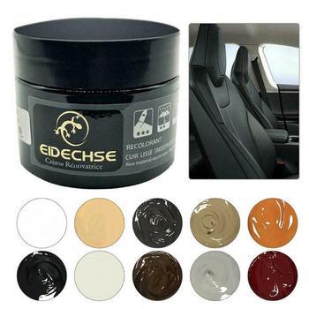 Car Seat Leather Restoration Vinyl Repair Kit Auto Car Seat Sofa Leather Holes Scratch Cracks Rips Liquid Leather Repair Cream