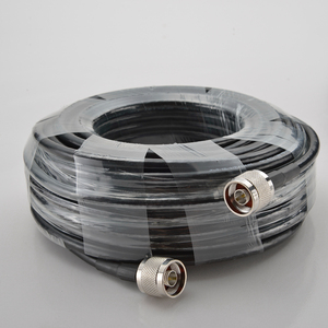 Image 2 - 30 Meters Coaxial Cable N Male To N Male For Mobile Phone Signal Booster Repeater Amplifier#25