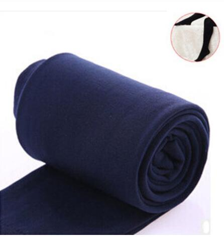 2020 Autumn winter woman thick warm leggings candy color brushed charcoal Stretch Fleece Pants Trample Feet Leggings 22