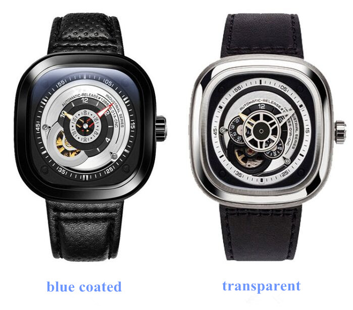 Free Shipping 1pc 7 Friday Watch Mineral Glass Replacement P/S/Q/V