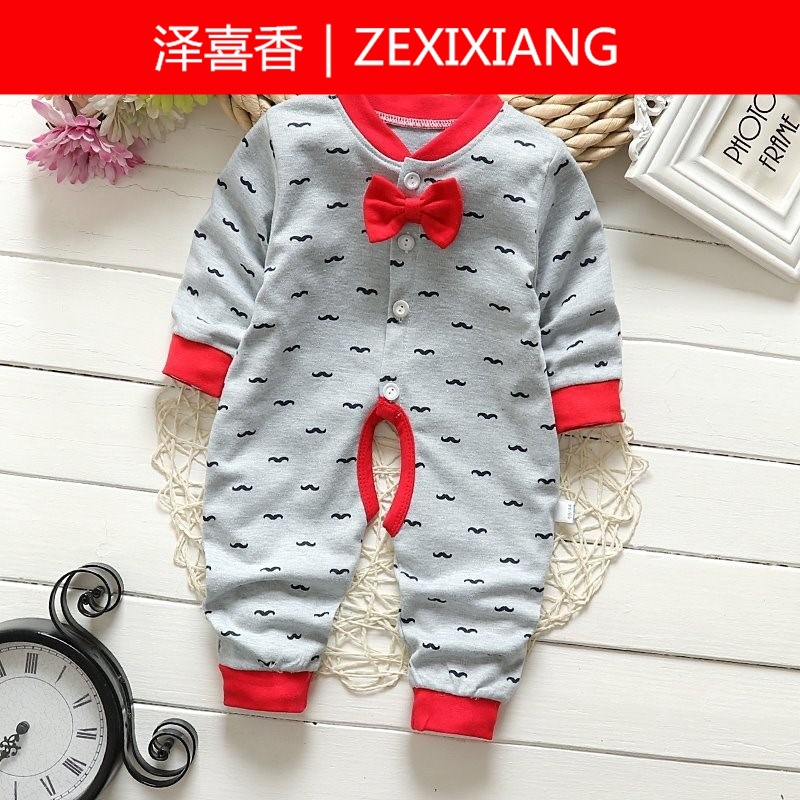 Infant Jumpsuit Spring Clothing 26 Three 5 Female Baby Two Months Four Months Boy Multi-Month Birth CHILDREN'S