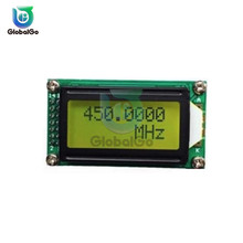 1MHz~1200MHz Frequency Meter Tester for Car Auto PLJ-0802-E LCD 0802 Digital Display Screen Module DC 9V ~ 12V