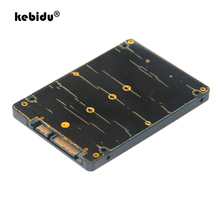 Kebidu портативный адаптер преобразователя NGFF M.2 SSD на 22Pin SATA III с 2,5 дюймовым корпусом 2280 2260 2242 2230 SSD