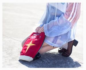 Image 5 - Harajuku mobil takım elbise japon animesi GUNDAM RX 78 2 kalkan Cosplay öğrenci okul bel postacı çantası kırmızı okul sırt çantası Prop