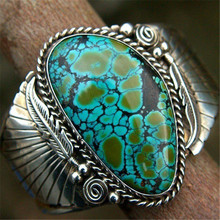 LETAPI Silver Color Vintage Antique Stone Ring Fashion Jewelry Green Stone Finger Ring For Women Wedding Anniversary Rings vintage rudder character unisex finger ring creative watches antique alloy rings hot gift for women men