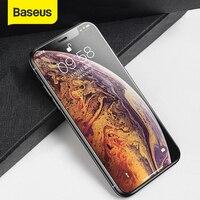 Baseus 0.3 Mm Gehard Glas Voor Iphone X Xs Volledige Cover Beschermende Glas Voor Iphone Xs Screen Protector Voor Iphone X Xs|Telefoonscherm Bescherming|   -