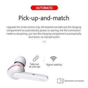 Image 4 - Lenovo HT28 TWS gerçek kablosuz kulaklık Bluetooth 5.0 derin bas kulaklık HD stereo kulaklıklar gürültü iptal uzun saplı kulaklık