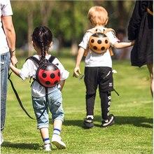 Kids Backpacks Mini Ladybug 3D Cartoon Printed School Bag Boy Girl Bag Kids Baby Bags for Kindergarten Cool Children Present