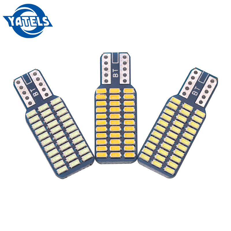 2 PCS T10 192 194 168 <font><b>W5W</b></font> <font><b>LED</b></font> Bulbs 33 SMD 3014 Car Tail Lights Dome LampLicense plate lights DC <font><b>12V</b></font> Canbus COB Error Free image