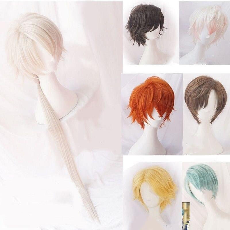 Cosplay Harajuku Wig Hair-Costume Mystic Messenger Jumin Zen Yoosung 707 Curly-Hair Han