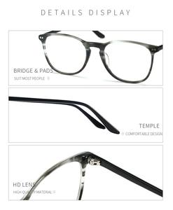 Image 5 - Мужские и женские очки для близорукости BLUEMOKY, квадратные оптические оправы для очков по рецепту