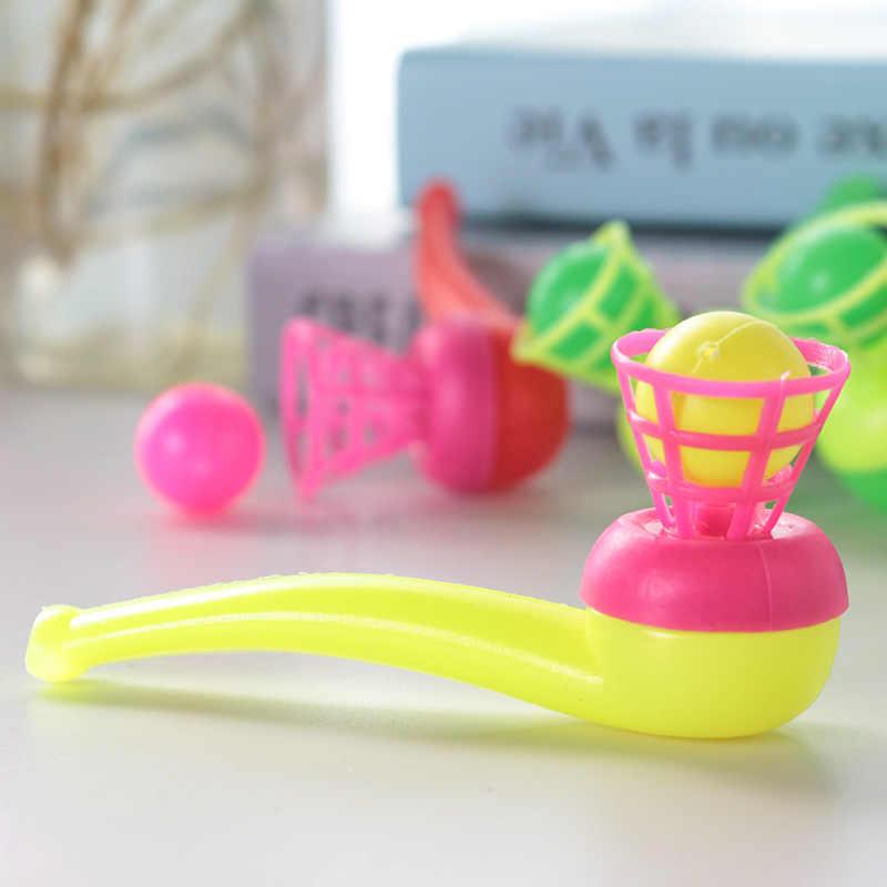 1 قطعة التقليدية الكلاسيكية الحنين البلاستيك تعليق ضربة الكرة الأنابيب شكل ضربة الموسيقى لعب للأطفال