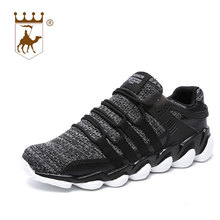 BACKCAMEL New Breathable Men Casual Shoes Woven Mesh Fashion Trainers Flats Tenis Masculino Adulto