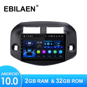 Android 10.0 Car Multimedia Player For Toyota RAV4 RAV 4 2007-2010 Autoradio GPS Navigation Camera WIFI IPS Screen Stereo RDS