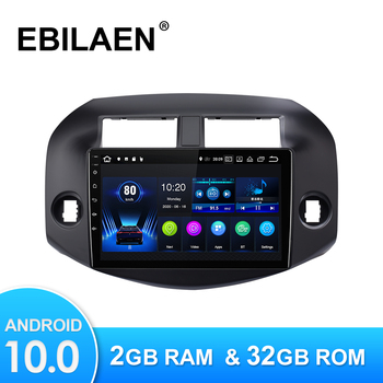 Android 10.0 Car Multimedia Player For Toyota RAV4 RAV 4 2007-2010 Autoradio GPS Navigation Camera WIFI IPS Screen Stereo RDS image