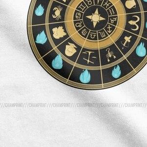 Image 3 - تي شيرت على مدار الساعة من Saint Seiya للرجال تي شيرت قطني عتيق برقبة دائرية وفرسان البروج تي شيرت مطبوع بأكمام قصيرة